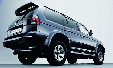 Mitsubishi pajero 3200